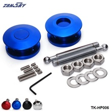 TANSKY -Universal Push Button Billet Hood Pins Lock Clip Kit Car Quick Latch New For FORD Mustang 4.6L V8 96-04 TK-HP006