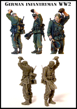 Scale Models 1/ 35 WWII german soldier in summer drop water figure Historical WWII Resin Model Free Shipping(China)