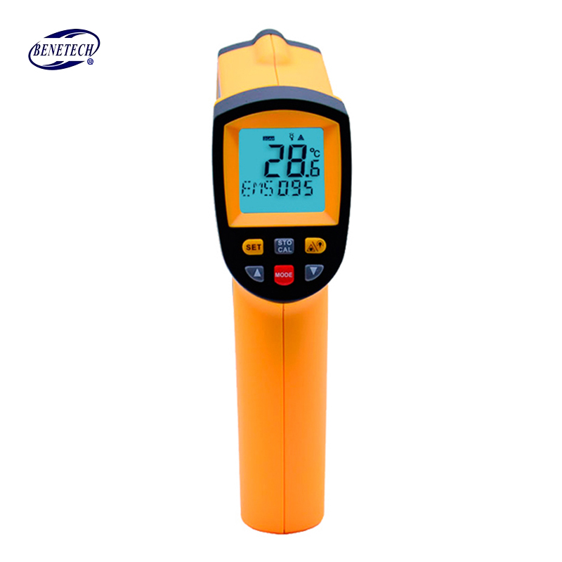 Non-Contact  IR Thermometer Digital Laser Infrared Pointer Thermometer GM900 -50-950 Degree With Carry BOX<br>