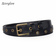 New Fashion lady Hollow wide belt Jeans with high waist 2017 women designer belts Personality casual female belt 106cm N116