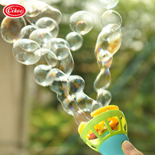 Cikoo Hot Sales Children 's Toys Electric Bubble Machine Kids Bubble Blowing Toys Bubble Gun Bubble Automatic Water Control(China)