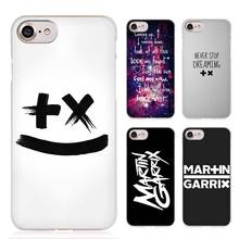 MARTIN GARRIX DJ PRODUCE Clear Cell Phone Case Cover for Apple iPhone 4 4s 5 5s SE 5c 6 6s 7 7s Plus