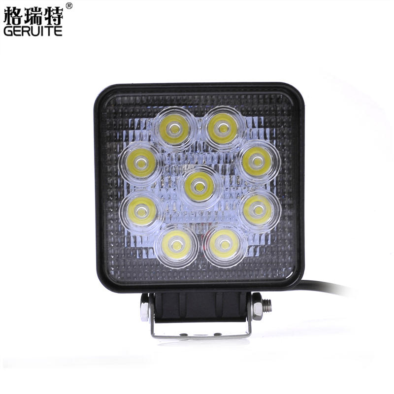 4pcs/Lot 27W LED Work Light for Indicators Motorcycle Driving Offroad Boat Car Tractor Truck LED work light 12V<br><br>Aliexpress