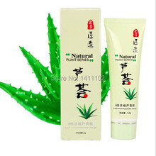 Face Care 100% Aloe Vera Gel Cream Skin Care Products Concentrated Moisturizing Anti Acne Anti-aging Mask 52g(China)