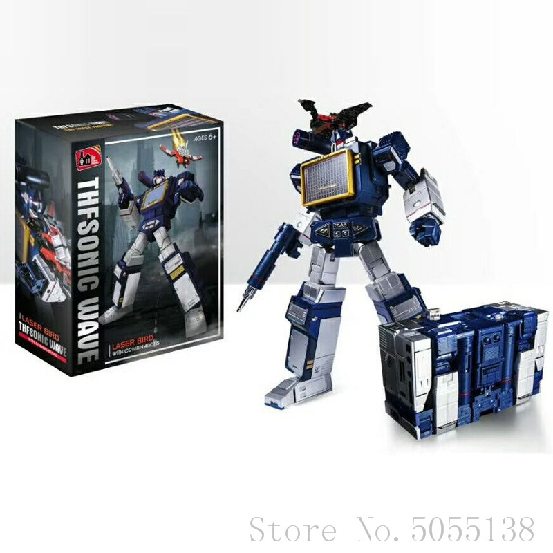Transformers Toy RobotHero K-01 Pony G1 Soundwave and Six Tape NEW in stock