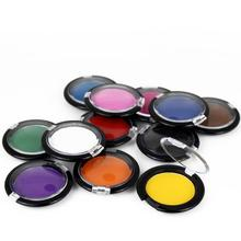 High Quality Hair Color Temporary Hair Dye Chalk Compact Candy Color Pressed Powder For Hair Coloring