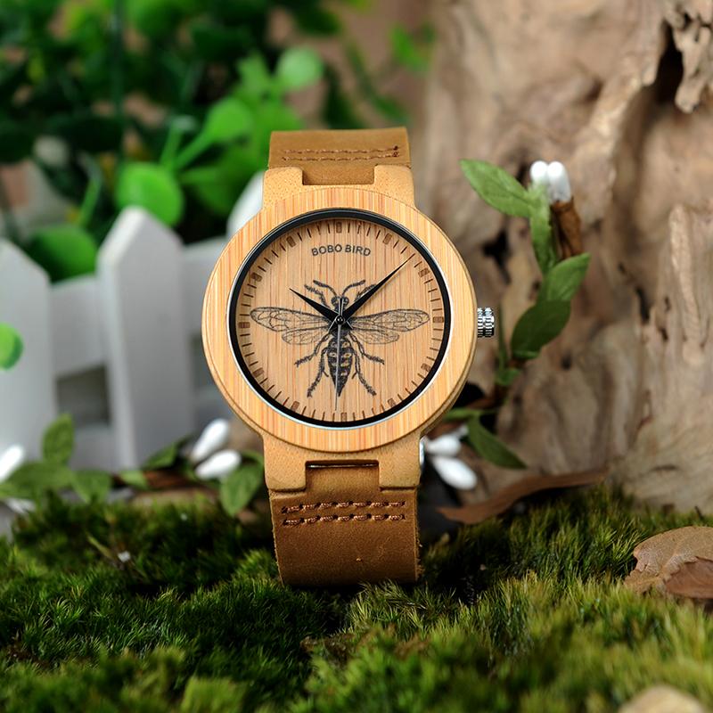 wooden men wrist watches for men bobo bird (12)