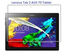 "0.33mm ultra thin 9H tempered glass protector film for Lenovo Tab 2 A10-70 Tablet 10.1""(China)"