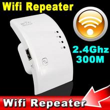 1pc 300Mbps Wireless WIFI Repeater Network Antenna Wifi Extender Signal Amplifier 802.11n/b/g Signal Booster Repetidor Wifi(China)