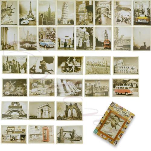 Lot of 32 Travel Postcard Vintage Landscape Photo Picture Poster Post Cards<br><br>Aliexpress