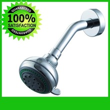 Ducha lorenStorn espalhador em ABS lat_o cromado  Brass Shower  Arm  Shower Head Extension + Abs Shower Head