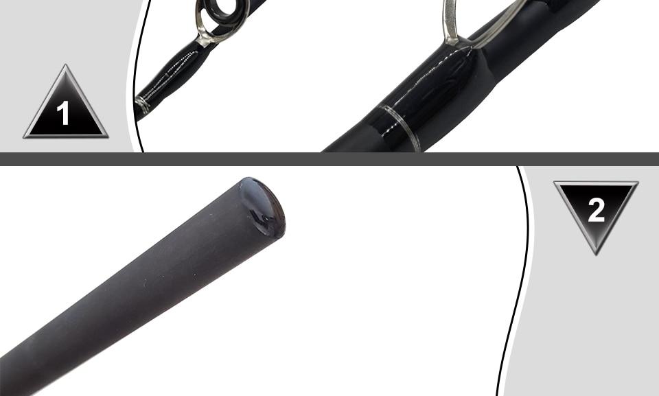 K8356 1.8-3.0m Ultra Light Portable M Power 4 Section Carbon Fiber BaitcastingSpinning Fishing Rod 10-25g 12-25Ib Travel Rod_6