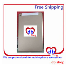 For Apple iPad mini4 mini 4 A1550 4G 3G Version Battery Door Back Rear Housing Cover Case Replacement with logo Free Shipping
