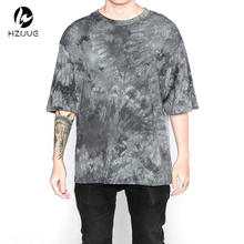 streetwear hipster oversized tshirt clothing fashion korean novelty 3d weed shirt men clothes hip hop rock t shirts tie dye