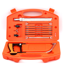 11 In 1 Mental Mini Saw Hacksaw DIY multifunction Hand Saw for Wood Woodworking Saws Set Kit Multi Purpose Hobby Tool(China)