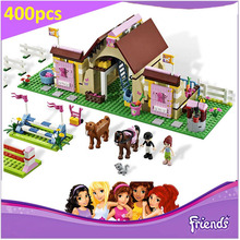 Heartlake Stable 3189 Building Blocks Model Toy For Children BELA 10163 Compatible LEPIN Friends Figure Brick Set