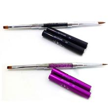 Hot Best Deal 1 Pc New Acrylic Handle Nail Art Dotting Paint Brush Beauty Girl Nov.19