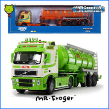 Mr.Froger Tanker Model alloy car model Refined metal Engineering Construction vehicles truck Decoration Classic Toys collection
