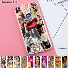 Buy DREAMFOX K175 Rihanna Complex Soft TPU Silicone Case Cover Apple iPhone 8 X 7 6 6S Plus 5 5S SE 5C 4 4S for $1.27 in AliExpress store