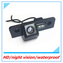 Free shipping Rearview camera For Skoda Octavia vehicle water-proof Parking assist CCD HD Auto Backup Reverse Camera Reversing(China)