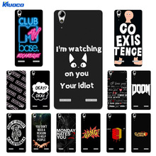 Buy Soft TPU Phone Case Lenovo A6010 Plus & A6000 & Lenovo Lemon K3 K30-T Cover Black Letters Printing K3 6000 6010 Capa for $1.33 in AliExpress store