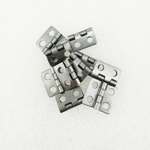 White/Silver Color Cabinet Door Luggage Hinge,4 Large Holes Decor,Furniture Decoration,Antique Vintage Old Style,12*13mm,12Pcs
