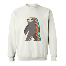2017 Best Gift For Friend Slow Walker Sloth cute animals print funny Hoodies Sweatshirts for men(China)