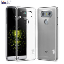 Buy Imak Brand Case LG G6 Cover Top Original Ultra Thin SLIM Transparent Clear Crystal Skin PC Hard Shell Case LG G6 for $4.27 in AliExpress store