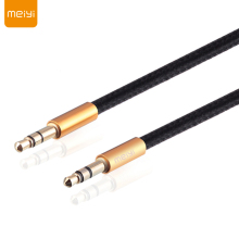 MEIYI Gold Plated Plug 3.5 mm Jack Aux Cable Male to Male Audio Cable for Car iPhone MP3 MP4 Headphone Speaker Mobile Phone(China)
