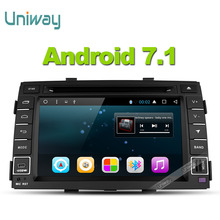 uniway 2G+32G 2 din android 7.1 car dvd for kia sorento 2009 2010 2011 2012 2 din in dash car stereo gps nagavition headunit(China)