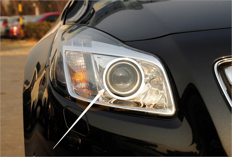 smd led angel eyes Opel Insignia 2008 2009 2010 2011 2012 2013(17)