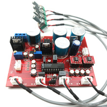 Reference music fax circuit design LM1036 Tone board OP275 dual op amp + LF353 + lm317 + lm337 servo power supply