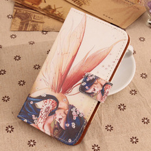 ABCTen Fashion Pop PU Leather Case Flip Credit Card Slot Mobile Phone Cover For Medion Life X5004 MD 99238 5