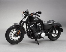 Free Shipping Maisto 2014 Sportster Iron 883 1:12 Motorcycles Diecast Metal Sport Bike Model Toy New In Box for Collect