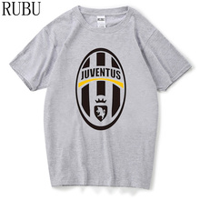 RUBU 2017 Summer Fashion Juventus T Shirt Men'S Short Sleeve Printed T-Shirt Funny Tees Harajuku Shirts Cool Tops Tee
