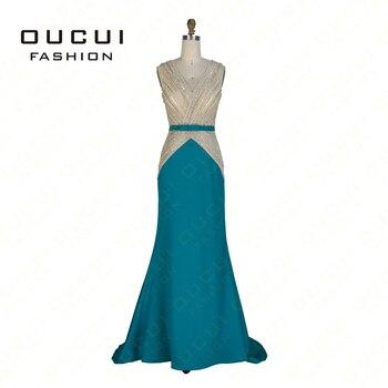 Occasion spéciale robe paillette Cristal Femme robe de soirée manche longue Robe Longue De Soirée OL102848