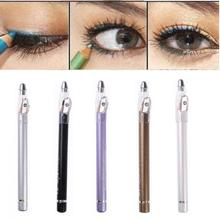 1Pc Women Eye liner Professional Eyeliner Pencil Pen Makeup Cosmetic Tools New Design Waterproof Hot Sale Portable