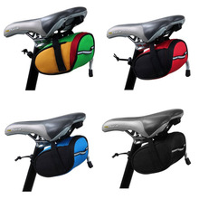 Cycling Mountain Road MTB Bike Saddle Bag Bicycle Back Seat Tail Rear Pouch Storage Package free shipping