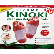 10pcs Health Care Detox Foot Pads Patch Detoxify Toxins Adhesive Keeping Fit Organic Herbal Cleansing Patches