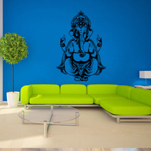 Indian Buddhism culture wall sticker For Sitting room background wall decor sticker Ganesh mandala Art Poster fashion Wallpaper