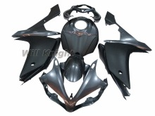 Injection Body Panel for Yahama YZF1000 YZF R1 2007 2008 ABS Injection Silver Black