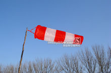 Professional Windsock Wind Vane Water Proof Red & White Weather Vane Emovane for Airport Home(China)