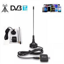 DVB-T2 DVB-T TV Dongle Receiver USB HD digital TV tuner Stick DVB T/T2/C Satellite Receiver with Antenna FM Russia Europe CHT01(China)