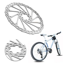 New 1PC 140mm/160mm/180mm/203mm Stainless Steel MTB Bike Disc Brake Rotor Mountain Road Bike Bicycle Parts