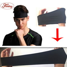 Elastic Sports Headbands For Men Women Head Band Headwear Fashion Menina Hairbands Hair Accessories For Adults Unisex(China)