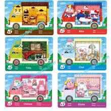 6PCS NFC Card NTAG215 Printing Card for Animal Crossing x Sanrio Series(China)