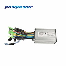 36V/48V 350W Brushless DC Sine Wave Controller ebike Electric Bicycle Hub Motor Controller with right output(China)