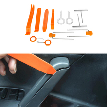 12pcs DIY Portable Vehicle Car Auto Door Clip Panel Audio/dvr gps Refit Trim Removal Tools Set Kit Pry Refitting Repairing Tools(China)