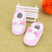 Baby Kids Shoes First Walkers Cotton Winter Autumn Warm Soft Bowknot Knitted Prewalkers Sneakers Shoes Boys Girls Children
