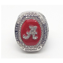 Fashion 2014 SEC roll tide alabama mizzou crimson tide college football championship ring